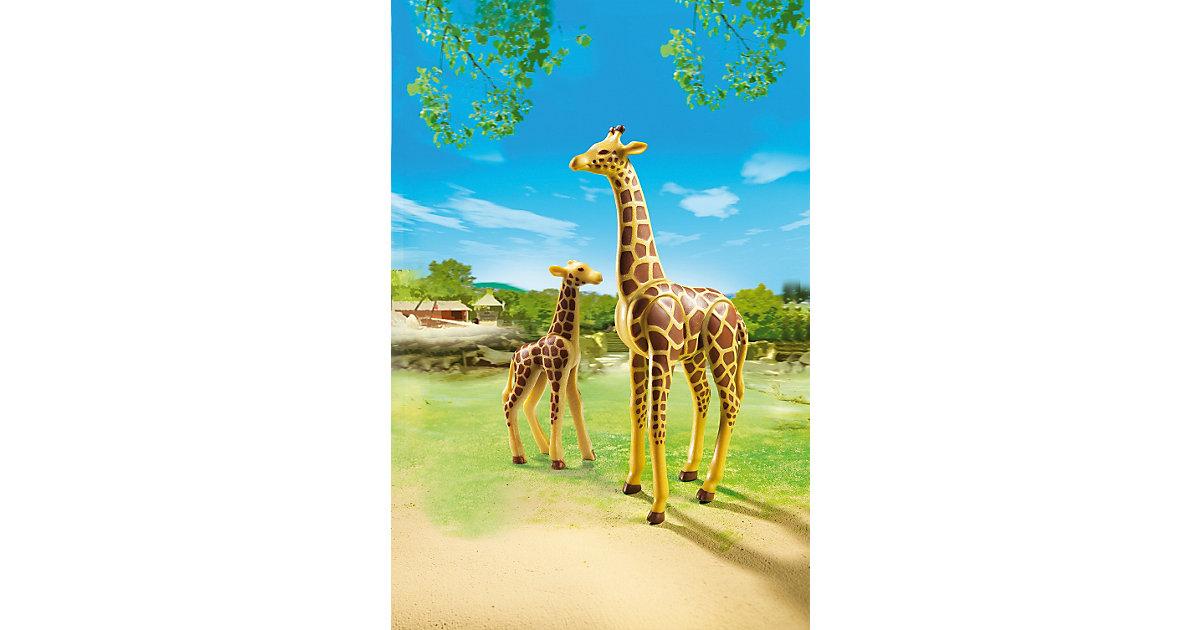 6640 Giraffe mit Baby