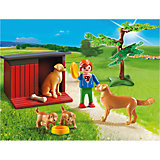 PLAYMOBIL® 6134 Golden Retriever mit Welpen
