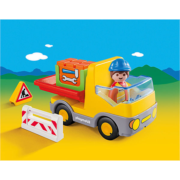 PLAYMOBIL® 6960 1-2-3: Muldenkipper