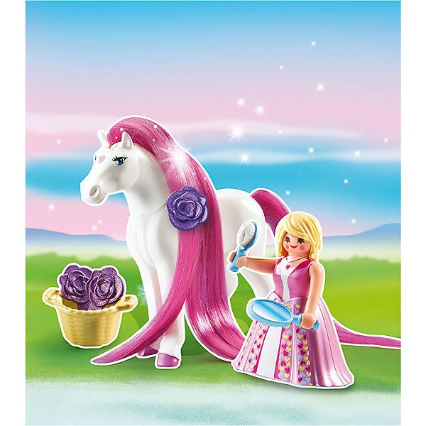 Принцессы: Принцесса Розали с Лошадкой, PLAYMOBIL