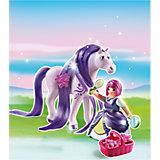 Принцессы: Принцесса Виола с Лошадкой, PLAYMOBIL