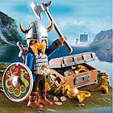 Экстра-набор: Викинг с сокровищами, PLAYMOBIL