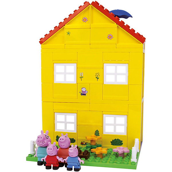 playbig bloxx peppa wutz peppas haus peppa pig mytoys. Black Bedroom Furniture Sets. Home Design Ideas