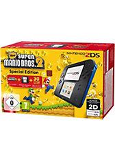 2DS Schwarz + New Super Mario Bros. 2 (vorinstalliert )