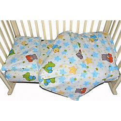 """Комплект постельного белья """"Звездопад"""", Baby Nice, желтый"""