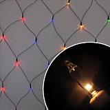 "Электрогирлянда ""Сетка"", 1,5х2,5 м,  многоцв., 240 ламп"