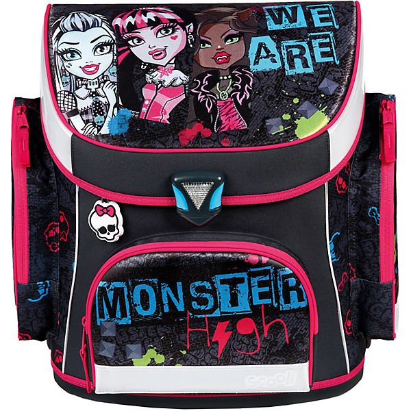Schulranzenset Campus Plus Monster High, 5-tlg. - Kollektion 2016