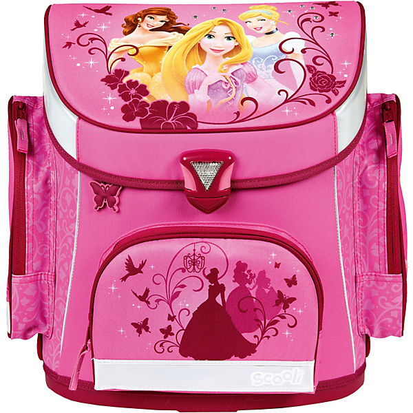 Schulranzenset Campus Plus Disney Princess, 5-tlg. - Kollektion 2016