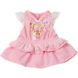 BABY born Puppenkleidung Kleid rosa, 43 cm