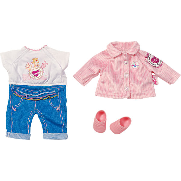 my little BABY born® Kleidung Kita-Set