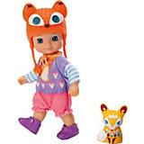mini CHOU CHOU Minipuppe Foxes Lucky, 12 cm