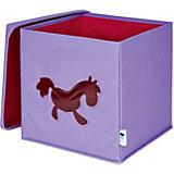 Spielzeugkiste mit Sichtfenster, Pony