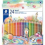 Цветные карандаши NorisClub, 24 цв.