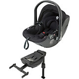 Babyschale evo-lunafix, Racing Black inkl. Isofix Base 2, 2015