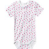 SANETTA Baby Body für Mädchen, organic cotton