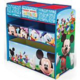 6-Boxenregal Mickey Mouse