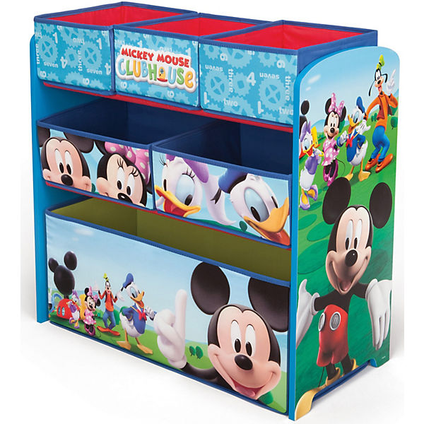 6-Boxen-Regal Mickey Mouse