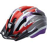 Fahrradhelm Meggy Reflex Rot Violet Matt