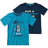 TOM TAILOR T-Shirt Doppelpack für Jungen