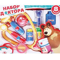 """Игровой набор """"Доктор"""", Маша и медведь, Играем вместе"""