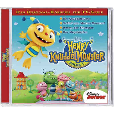 CD Disney Henry Knuddelmonster 01