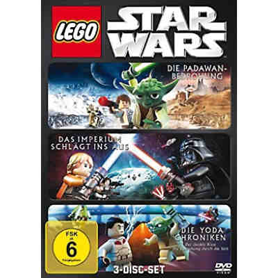 DVD Lego Star Wars Box (Padawan, Imperium & Yoda Chroniken)
