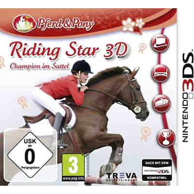 3DS Riding Star 3D - Champion im Sattel