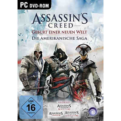 PC Assassins Creed - Die Amerikanische Saga