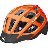 Fahrradhelm Kailu S/M Orange Schwarz Matt
