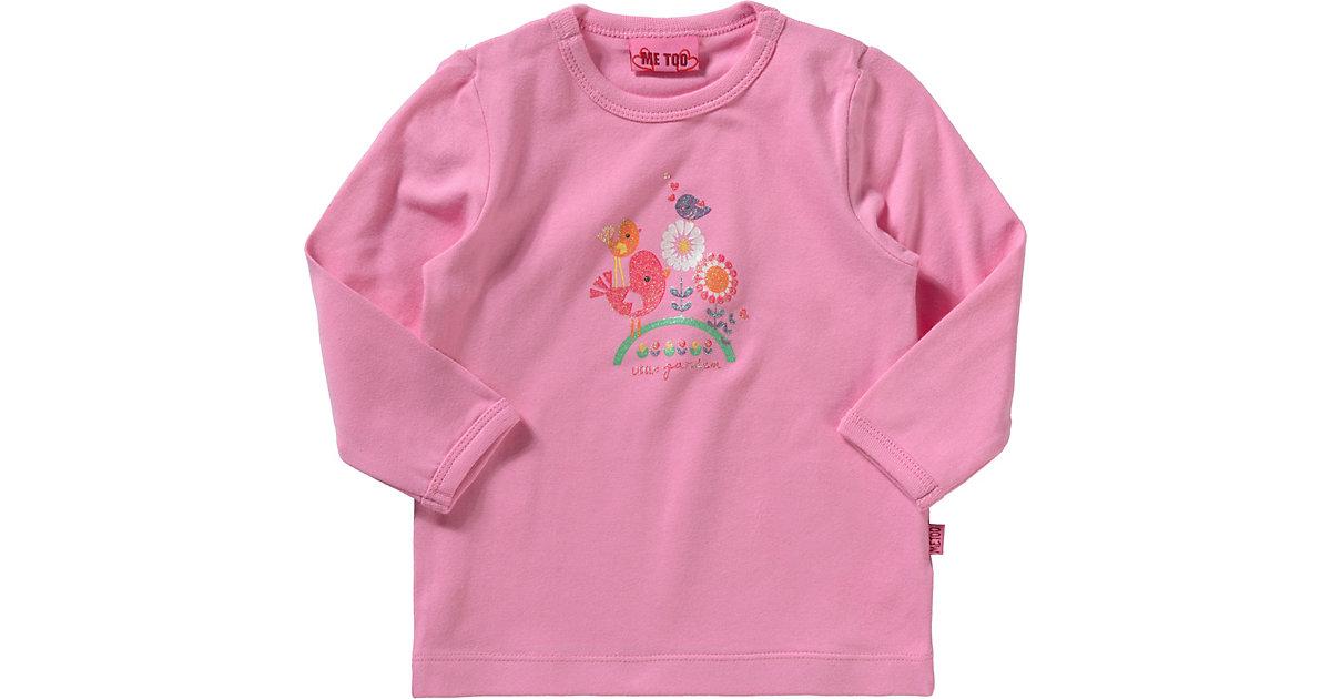 Baby Langarmshirt rosa Gr. 62 Mädchen Baby