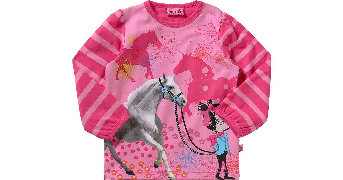 Baby Langarmshirt pink Gr. 80 Mädchen Baby