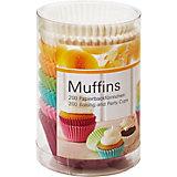 Muffinförmchen Pastell, 200 Stück