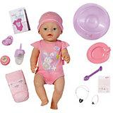 Кукла интерактивная, 43 см,  BABY born