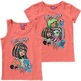 MONSTER HIGH Set T-Shirt + Tanktop für Mädchen
