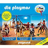 CD Die Playmos - Die große Cowboy- und Indianer Box (3 CDs)