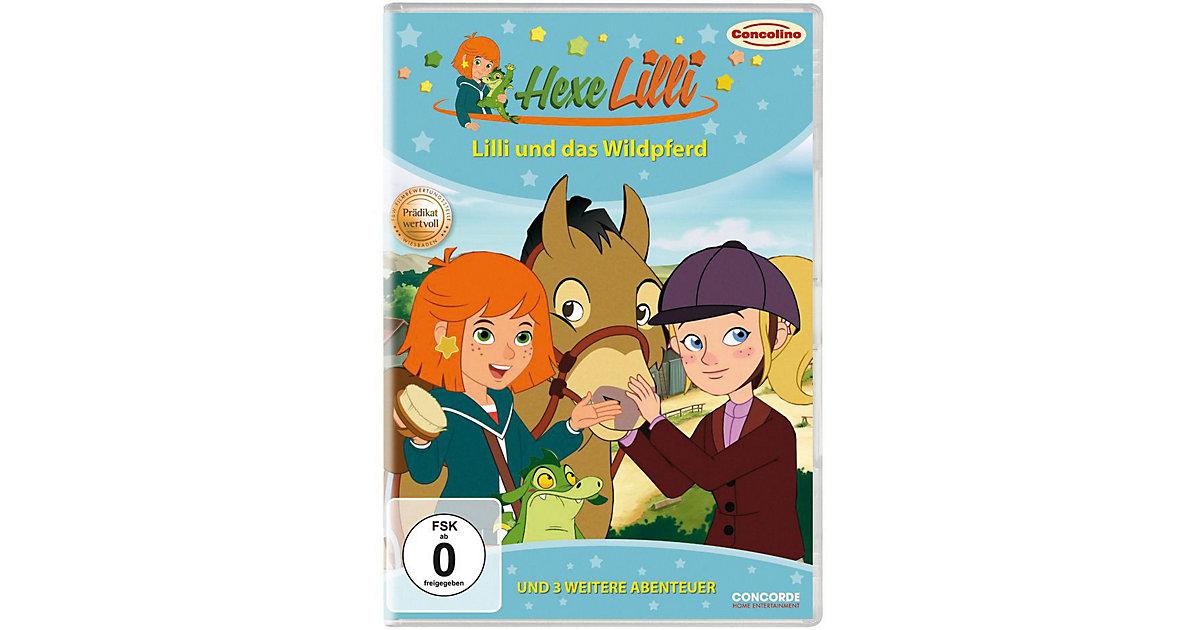 DVD Hexe Lilli - Lilli und das Wildpferd und 3 weitere Abenteuer