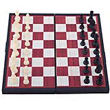"Магнитные шахматы ""3-в-1: шахматы, шашки, нарды"", Играем вместе"