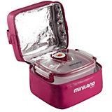 Термосумка с 2-мя вакуумными контейнерами, HERMIFRESH, розовый