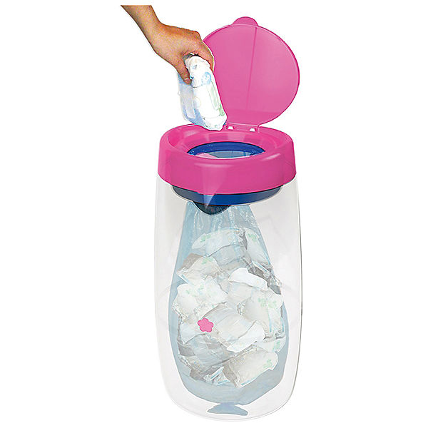 Накопитель подгузников AD-MINI-EU-PK  Angelcare Mini, розовый