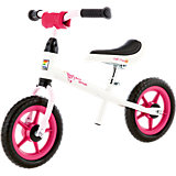 KETTLER Laufrad Speedy 10''  Princess, weiß-schwarz-pink