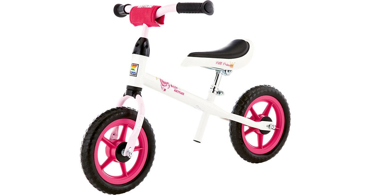 Laufrad Speedy 10´´ Princess, weiß-schwarz-pink pink/weiß
