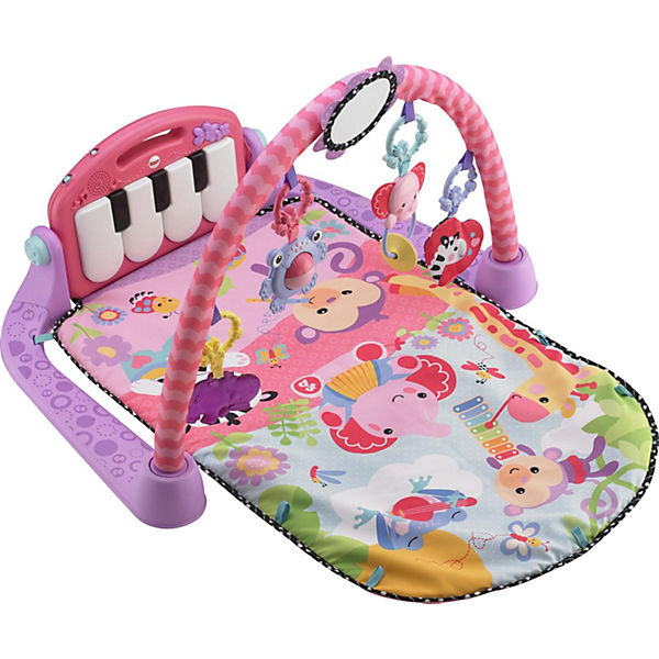 fisher price spieldecke piano gym pink fisher price mytoys. Black Bedroom Furniture Sets. Home Design Ideas