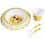 Набор посуды, Canpol, жёлтый