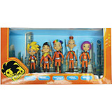 Набор из 5 фигурок (Алиса, Арик, Лёха, Наташа, Маша), 18 см, Алиса знает, что делать