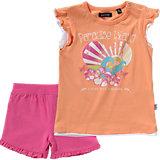 BLUE SEVEN Baby Set T-Shirt + Shorts für Mädchen