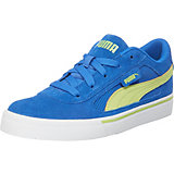 PUMA S Evolution Kinder Sneaker, blau