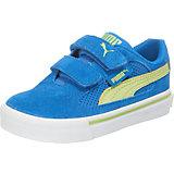 PUMA S Evolution V Kinder Sneaker, blau