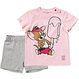 PUMA Set aus T-Shirt und Shorts für Mädchen