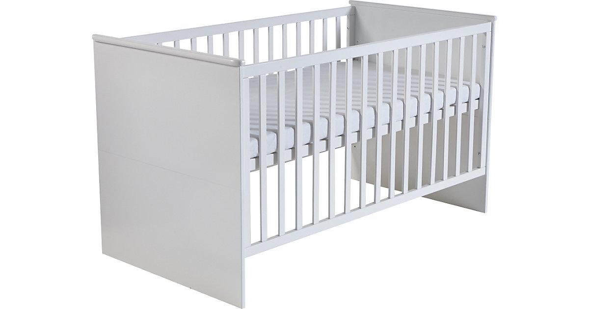 Kinderbett CAMBINO CITY, BOXX, Weiß, 70 x 140 cm