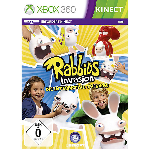 XBOX360 Rabbids Invasion - Die interaktive TV-Show